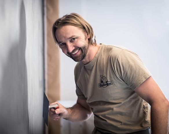 Klaus Dantmann, Malermeister